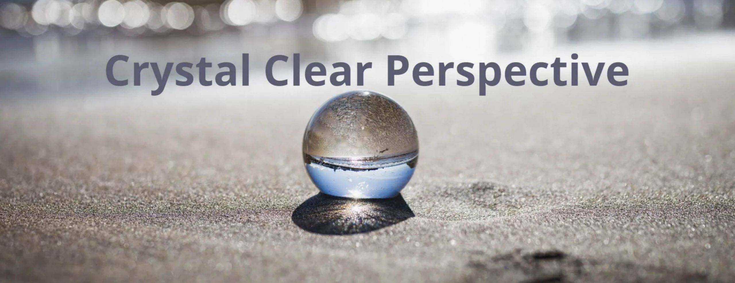 Crystal Clear Perspective Logo