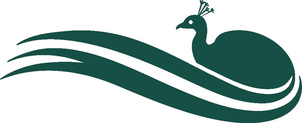Support Corsham Peacock Logo