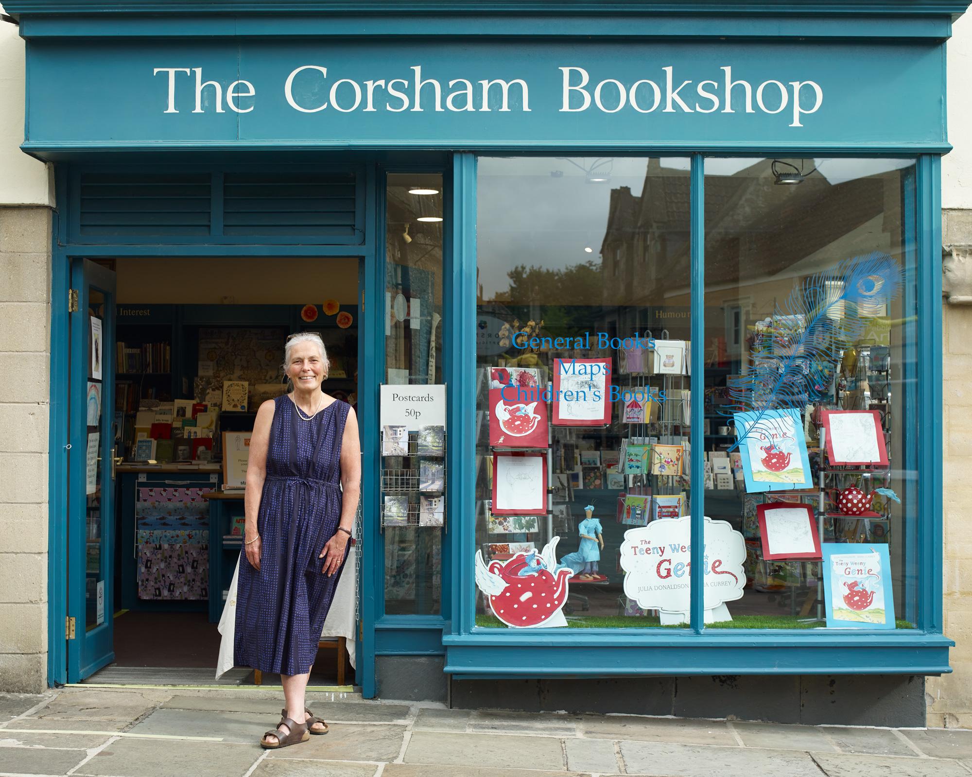The Corsham Bookshop Outside